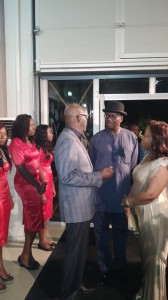 Gov Imoke and Former Deputy Speaker, Chibudum Nwuche, prefect of the class of '88 at the event