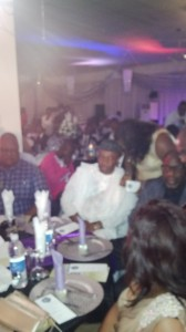 From Right - Senator Imoke, Gov Akpabio and SGF, Ayim Pius Ayim, all members of the class of 88 at the event