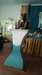 Comptroller General of the Nigerian Prisons Service, Mr Zakari Ohinoyi Ibrahim during the workshop in Calabar