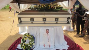 Remains of late Hon Sonnie Egbe waiting to interred