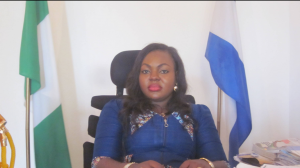 Mrs. Edith Amadi, Abi LGA Chair
