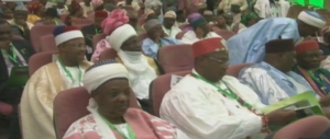 Cross section of delegates at the national conference
