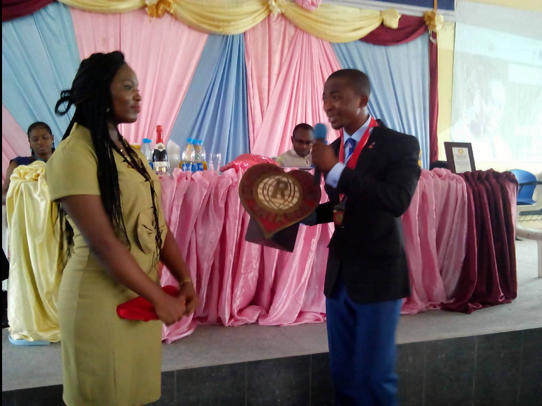UNICAL: Rotaract Club Installs First Female President
