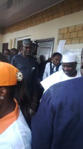 Tambuwal and Imoke commissioning the constituency farm project