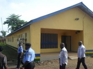 Renovated police building in Ikom Division