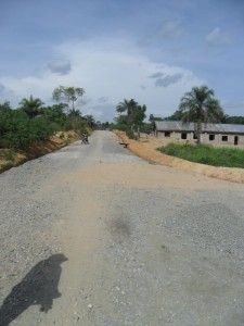 Akparabong road project