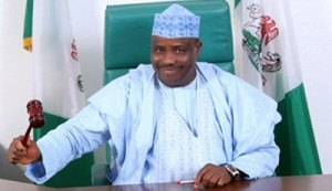 Hon. Aminu Waziri Tambuwal, Speaker, Federal House of Representatives