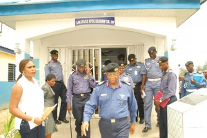 File picture: Admiral Medani inspecting facilities recently