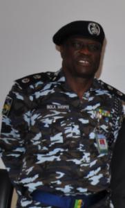 Mr. Kola Sodipo, Commissioner of Police, Cross River State