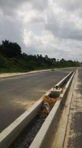 The 6.9 Kilometer Margaret Ekpo International Airport by-pass road which cost the Cross River State Government 6.45 billion naira