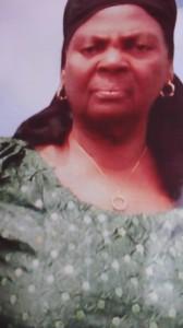 Late Mrs. Mbu