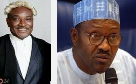 Bar. Obono Obla and General Buhari