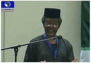 Akin Oyebode, Professor of International Law and Jurisprudence,  University of Lagos