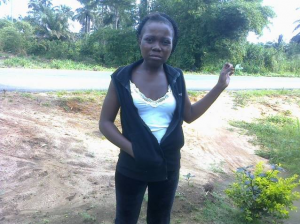 Miss Affiong Sunday John, last daughter of the deceased