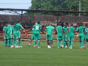 Golden Eaglets Arrive Calabar For Closed Door Camping