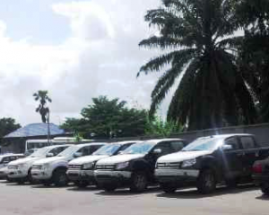 Some of the vehicles