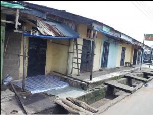Locked up shops in Ogoja