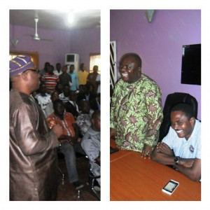Members of the UNICEM host communities during their visit to the Jedy Campaign office in Calabar