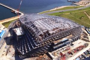 CICC still under construction