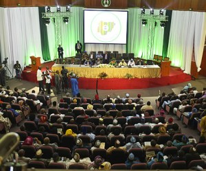 Delegates in session at the national confab 2014