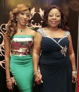 Senator Ita Giwa and daughter Koko