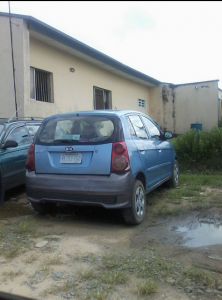 The car the police alleged was used for the 'robbery'
