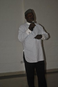 Pastor Ndoma Akpet, Chairman, NUJ Cross River State Chapter
