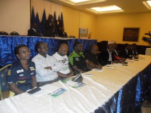 Cross section of network providers at the meeting