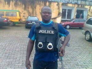 Sergeant Idoko (face of one of the Calabar killer cops)