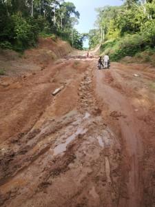 The abandoned Ukele road