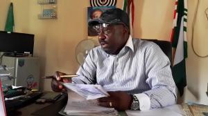 Comrade Eyo-Nsa Itam, Chairman, NUT Cross River State