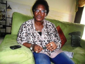 Surveyor Gertrude Njar, Chairman, Nigerian Institute of Surveyors NIS, Cross River Chapter