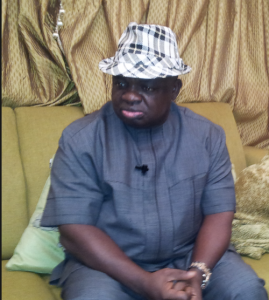 Dr. Alex Egbona, Chief of Staff to Governor Imoke of Cross River State