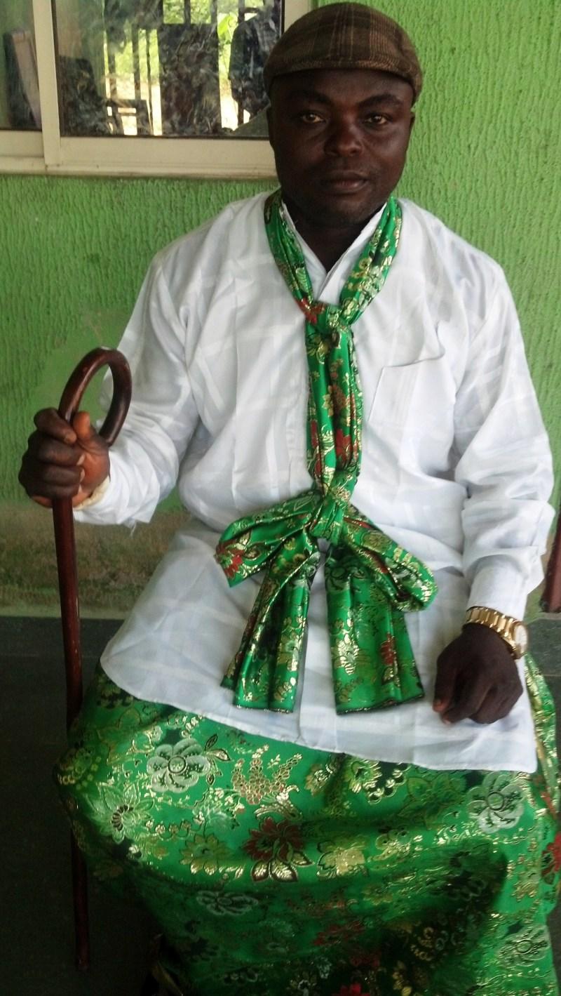 His Highness Chief Ededem Okon Ayito