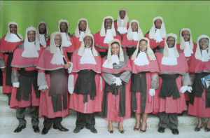 Cross section of Cross River Judges