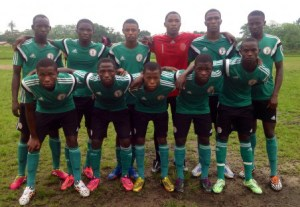Golden Eaglets lined up against Akpabuyo United