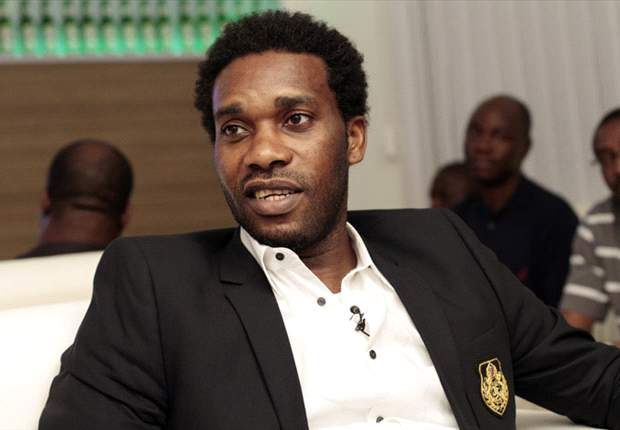 Jay Jay Okocha Carpets Calabar Stadium Pitch