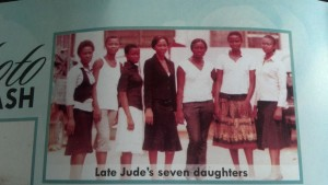Late Jude Okwe's seven daughters