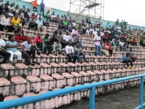 Scanty stadium