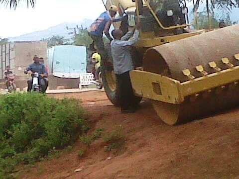 Ongoing rehabilitation work on Ogoja Road
