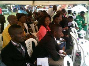 Cross section of candidates for the SUG election