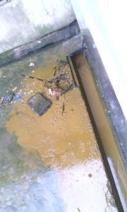 Faeces littering the male hostel UNICAL