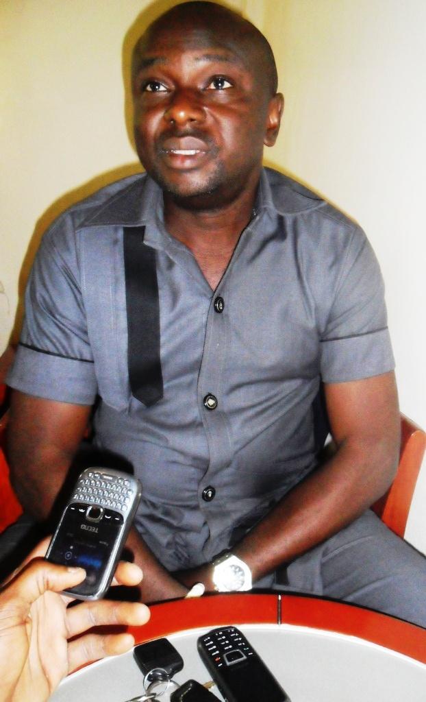 Comrade Cosmas Okiri