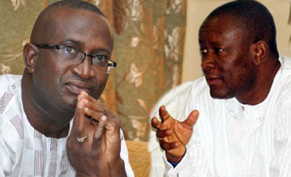 Senate Leader, Ndoma Egba and Hon. Owan Enoh