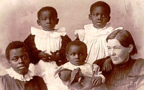 Mary Slessor and her adopted children
