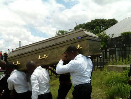 Remains of Mr. Iniobong Udofia
