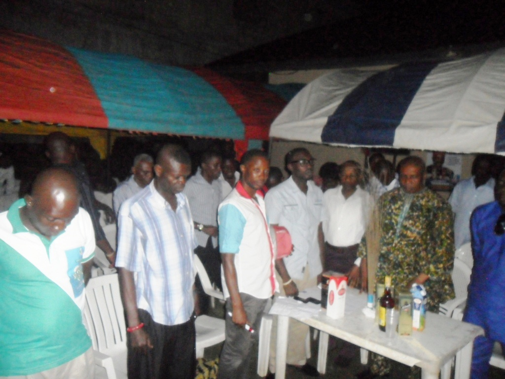Cross section of the ward 5 APC members during their meeting
