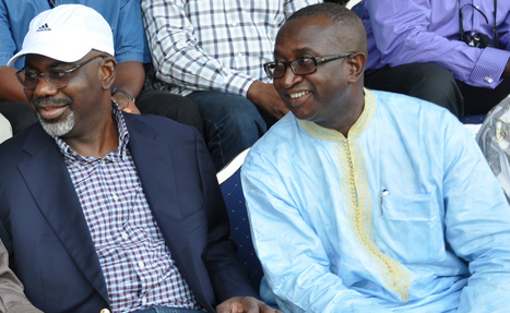 Governor Imoke and Senator Egba - Are they quarreling?