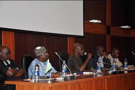Left: Chief Linus Okum (Adah Bekwara), Chairman, Cross River Northern PDP Caucus, Governor Liyel Imoke and Ntufam John Okon in a meeting with northern caucus members at the Obudu Cattle Ranch (file picture)