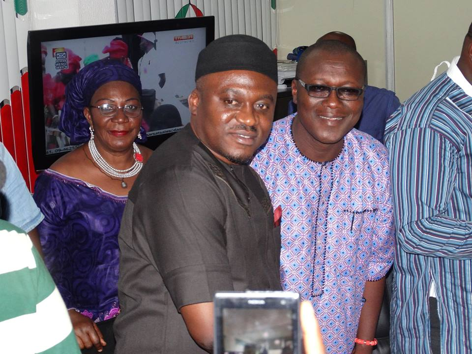 Legor Idagbo and Mr. Omini Odein, Former CPS to governor Imoke